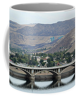 Coffee Mug featuring the photograph Grand Coulee Dam  by E Faithe Lester