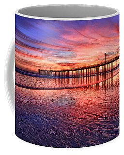 Coffee Mug featuring the photograph Grand Finale by Beth Sargent