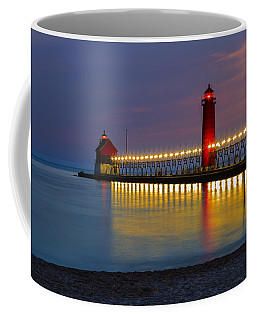 Grand Haven South Pier Lighthouse Coffee Mug