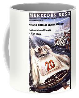 Grand Prix F1 Reims France 1954  Coffee Mug