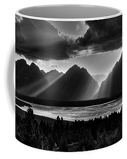 Grand Teton Light Beams Coffee Mug