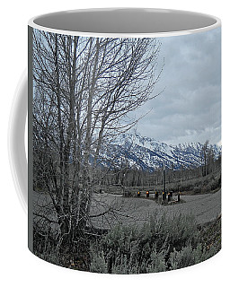Grand Tetons Landscape Coffee Mug