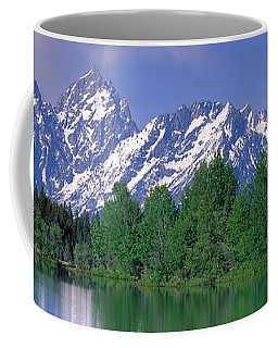 Grand Tetons National Park Wy Coffee Mug by Panoramic Images