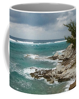 Grand Turk North Shore Coffee Mug by Michael Flood