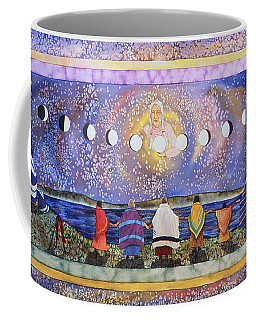 Grandmother Moon Coffee Mug by Lynda Hoffman-Snodgrass