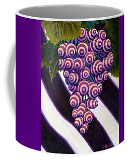 Grape De Menthe Coffee Mug by Sandi Whetzel