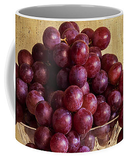 Grapes And Crystal Still Life Coffee Mug