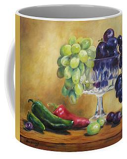 Grapes And Jalapenos Coffee Mug