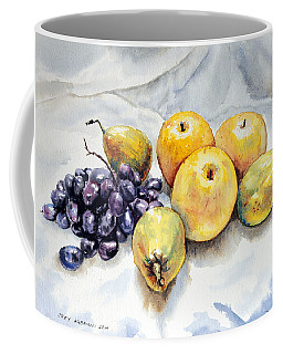 Grapes And Pears Coffee Mug