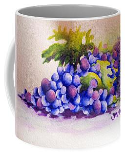 Grapes Coffee Mug by Chrisann Ellis