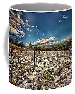 Grapes In Snow Coffee Mug