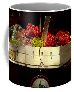 Grapes With Weighing Scale Coffee Mug