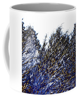 Coffee Mug featuring the digital art Grass Solarisation by Rudi Prott