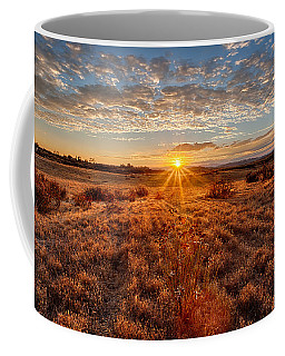 Grassland Sunset Coffee Mug