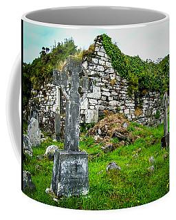 Graveyard And Church Ruins On Ireland's Mizen Peninsula Coffee Mug
