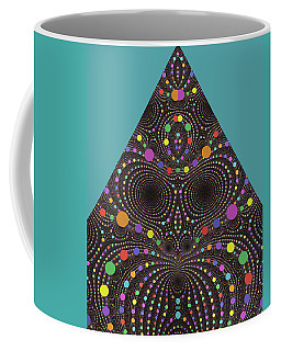 Coffee Mug featuring the digital art Gravity And Magnetism by Mark Greenberg