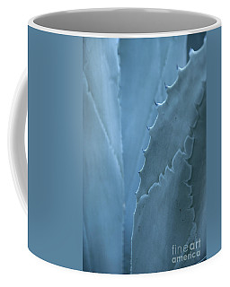 Gray-blue Patterns Coffee Mug