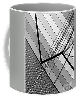 Gray Geometry 2 Coffee Mug