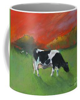 Grazing Cow Coffee Mug