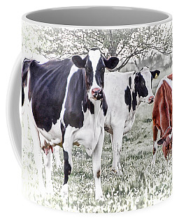 Busy Bovines Coffee Mug