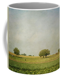 Coffee Mug featuring the photograph Grazing by Kim Hojnacki
