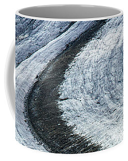 Great Aletsch Glacier Moraine Coffee Mug by Matthias Hauser