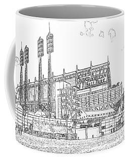 Great American Ball Park Line Coffee Mug