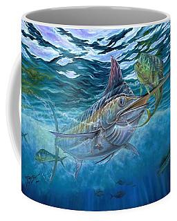 Great Blue And Mahi Mahi Underwater Coffee Mug