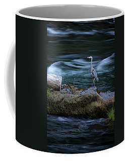 Great Blue Heron Coffee Mug