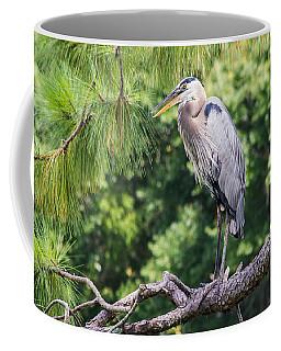 Great Blue Heron I Coffee Mug