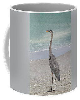 Coffee Mug featuring the photograph Great Blue Heron by Kim Hojnacki