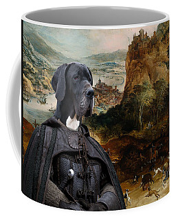 Great Dane Art - The Boar Hunt Coffee Mug
