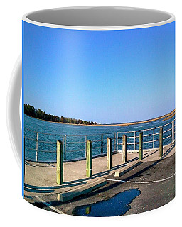 Great Day For Fishing In The Marsh Coffee Mug by Amazing Photographs AKA Christian Wilson
