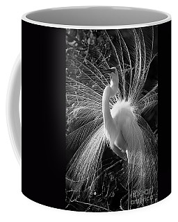 Coffee Mug featuring the photograph Plumes In The Wind by John F Tsumas