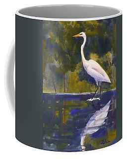 Great Egret Coffee Mug
