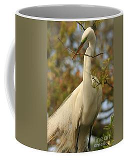 Great Egret Impressions Coffee Mug