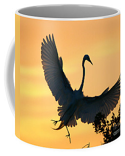 Coffee Mug featuring the photograph  Sunset Ballet by John F Tsumas