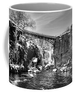 Great Falls In The Winter Coffee Mug