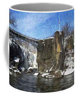 Great Falls Painted Coffee Mug
