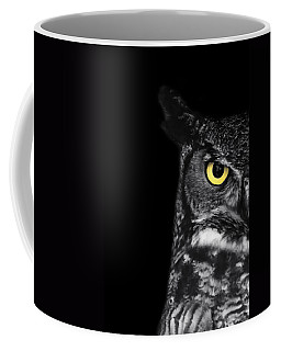 Great Horned Owl Photo Coffee Mug