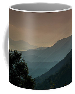 Coffee Mug featuring the photograph Great Smoky Mountains Blue Ridge Parkway by Patti Deters