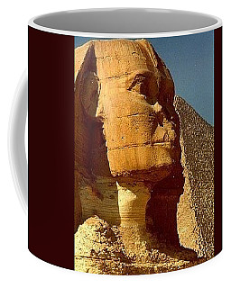Great Sphinx Of Giza Coffee Mug by Travel Pics