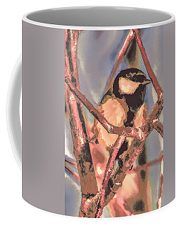 Great Tit  A  Leif Sohlman Coffee Mug by Leif Sohlman