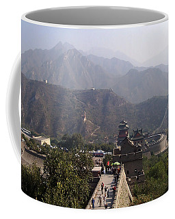Great Wall Of China At Badaling Coffee Mug