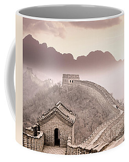 Great Wall Of China Coffee Mug by Delphimages Photo Creations
