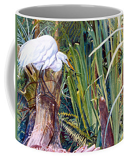 Great White Heron Sanctuary Coffee Mug