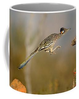 Greater Roadrunner Leaping Coffee Mug