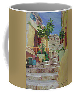 Coffee Mug featuring the painting Greece by Joshua Morton