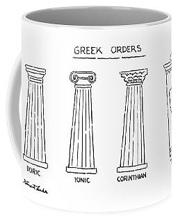 Greek Orders Coffee Mug