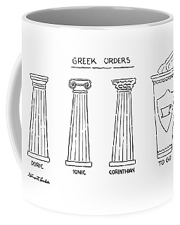 Greek Orders Coffee Mug